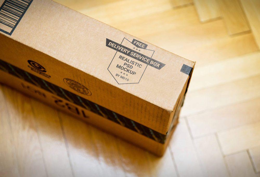 Mẫu hộp carton - mockup