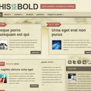 Bold - ElegantThemes
