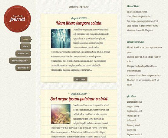 Theme DailyJournal - ElegantThemes - Kho Tài Nguyên