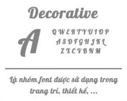 Decorative-font-item