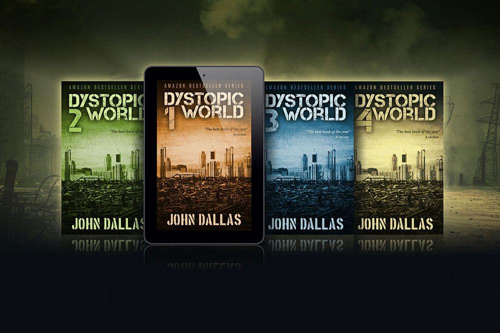 Dystopia Ebook Series Mockup 2