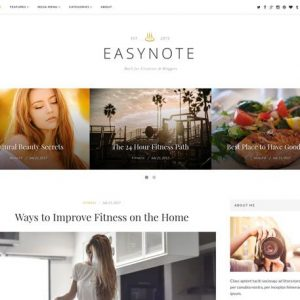 EasyNote - ThemeJunkie