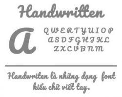 Handwritten-font-item