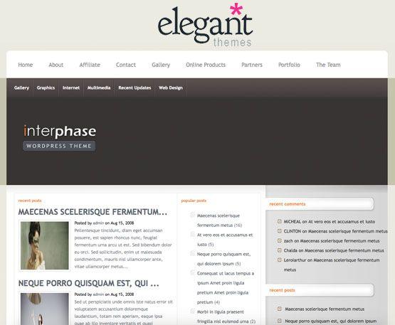 interphase elegantthemes