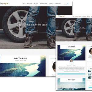 BlogAngel - ThemeHunk