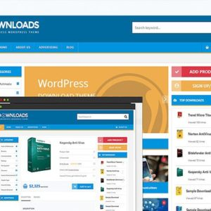 WordPress Digital Downloads Theme PremiumPress