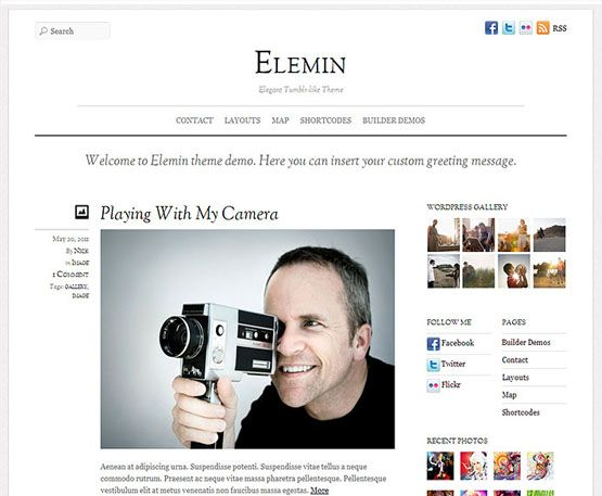 Elemin - themify