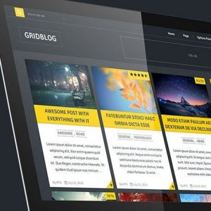 GridBlog - MyThemeShop