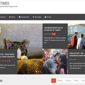 NewsTimes - MyThemeShop