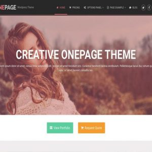 OnePage - MyThemeShop