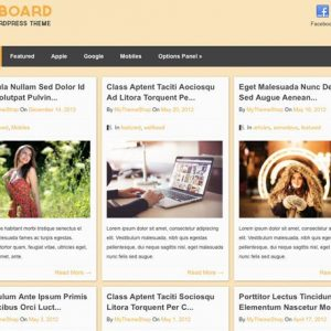 Pinboard - MyThemeShop
