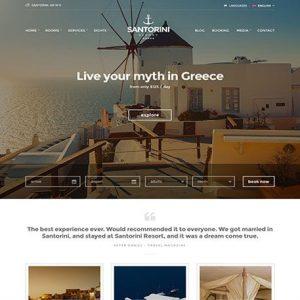 Santorini Resort - cssigniter