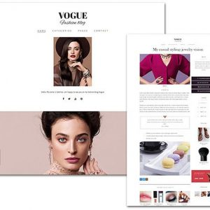 Vogue - TeslaThemes