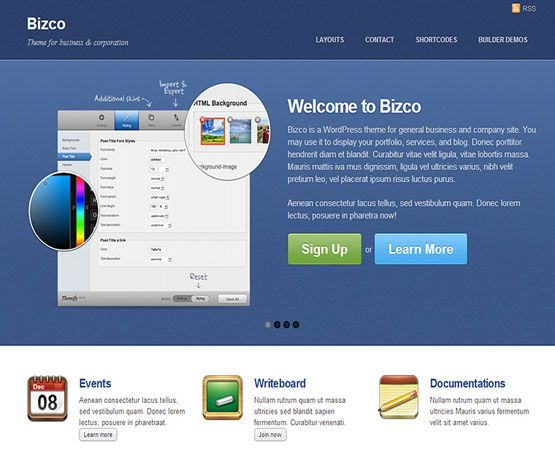 bizco - themify