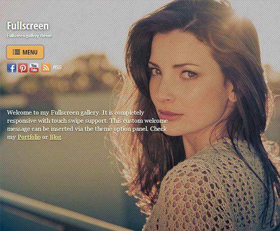fullscreen - themify
