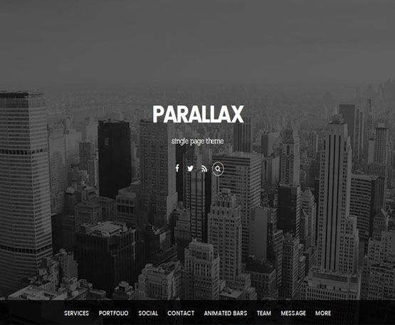 parallax - themify