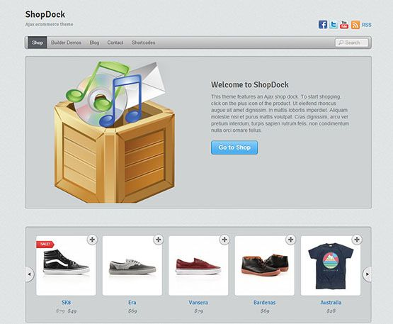 shopdock - themify