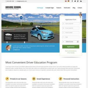 Driving School - aitthemes