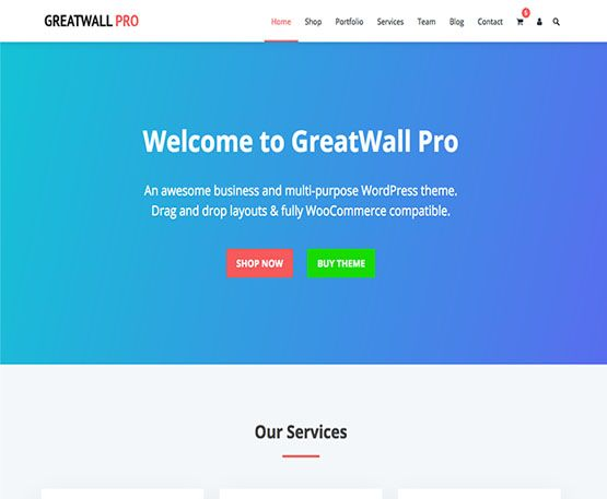 GreatWall Pro HappyThemes