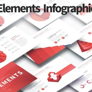 3D Elements - PowerPoint Infographics Slides