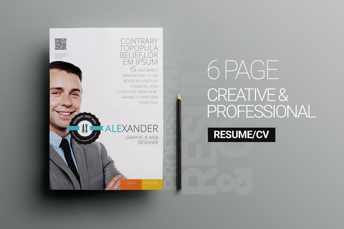 6 page Personal Resume v1