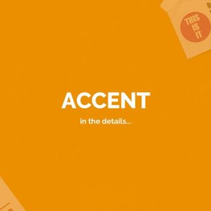 Accent — Creative Responsive OnePage Template