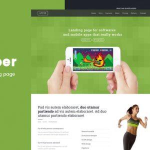 Apper - Landing Page