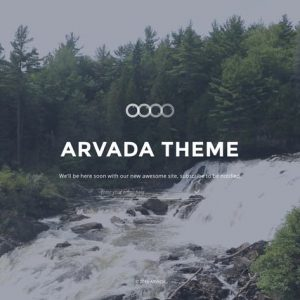 Arvada — Creative Coming Soon & Maintenance Mode T