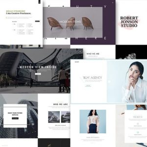 Bloom - One & Multi Page Portfolio HTML Template