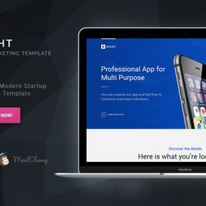 Bright - HTML Startup Landing Page