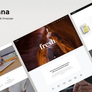 Canna - Creative Multi-Purpose HTML