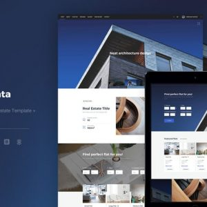 Chata - Modern Real Estate Template + E-Commerce