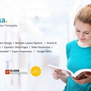 Edua - Educational HTML5 Template