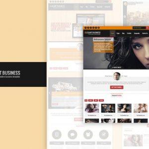 Elegant Business - Responsive HTML