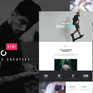 Lexio - Onepage Creative HTML Template