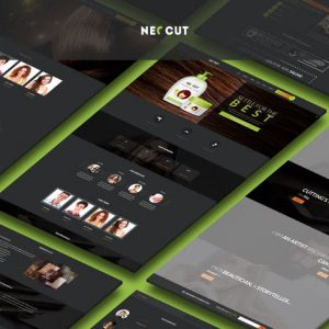 Neo Cut - HTML5, Responsive Hair Salon Template