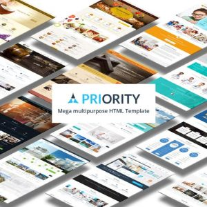 Priority | Multipurpose Responsive HTML5 Template