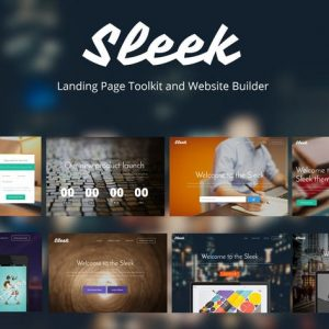 Sleek with Mobirise Bootstrap Page Builder