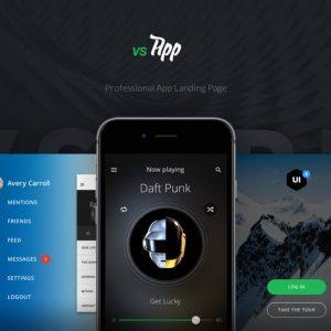 VSApp - Ultimate App Landing Page