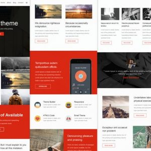 Wince Mail - Responsive E-mail Template