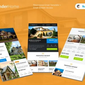 WonderHome E-newsletter Template