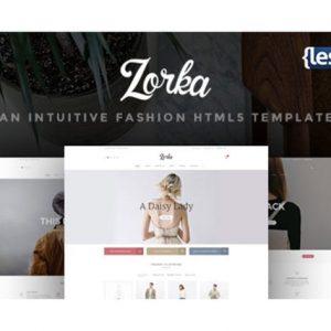 Zorka - An Intuitive Fashion HTML5 Template
