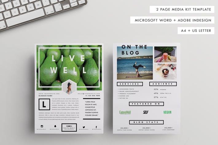 A4+US Letter Press/Media/Pitch Kit 