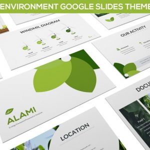 Alami - Environment Google Slides Template