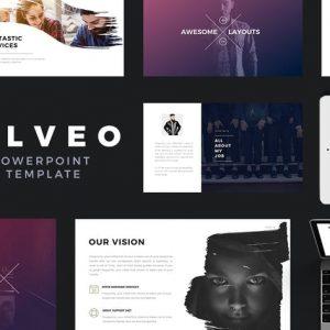 Alveo Minimal Powerpoint Presentation Template