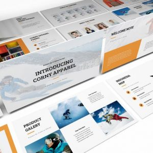 Apparel Product Launching Powerpoint Template