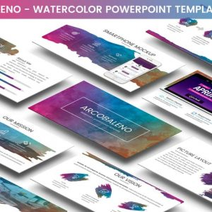 Arcobaleno Powerpoint Template