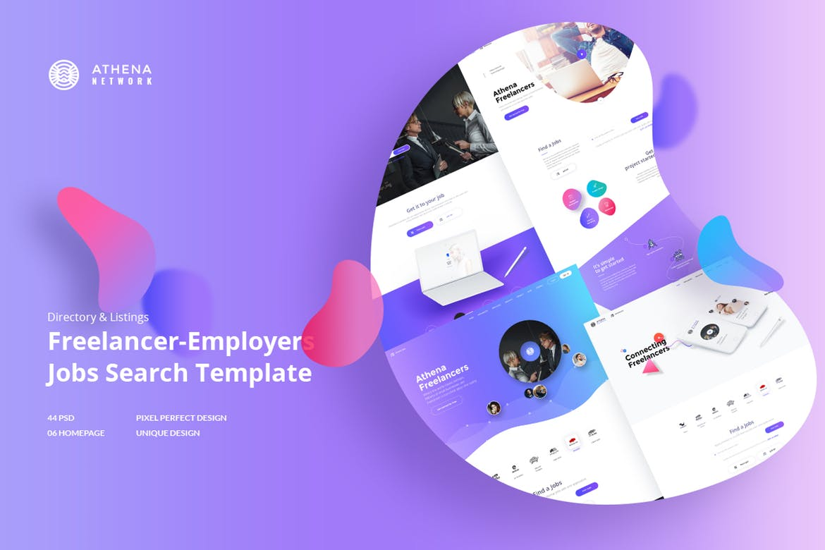 ATHENA - Freelancer and Employers Jobs Search