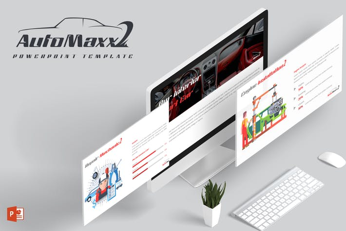 Automaxx Powerpoint Template