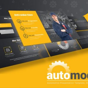 Automodus - Automotive Powerpoint Template